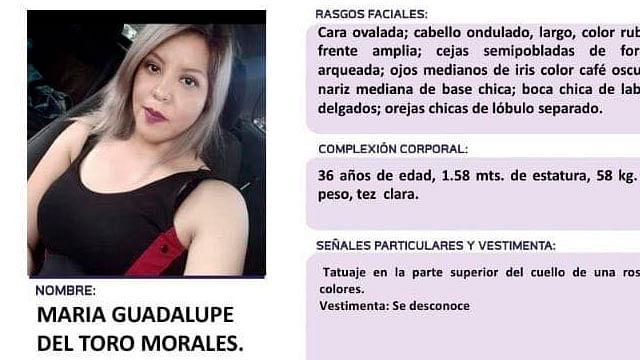 Convocan a actividad de apoyo en audiencia sobre feminicidio de Guadalupe del Toro