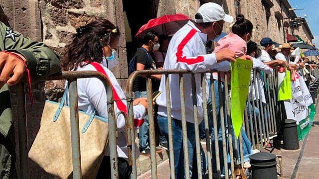 Atraerá gobierno federal adeudos con el magisterio de Michoacán: AMLO
