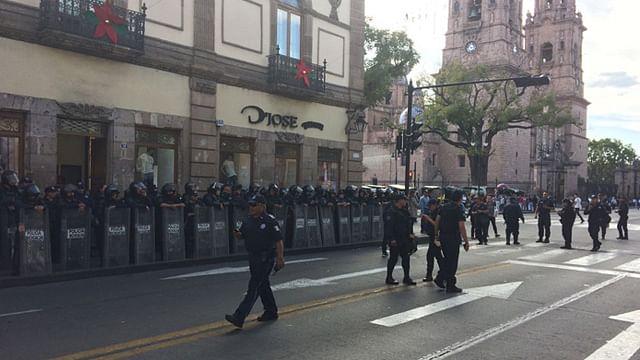 CUL se retira de avenida Madero; anuncia marcha este jueves