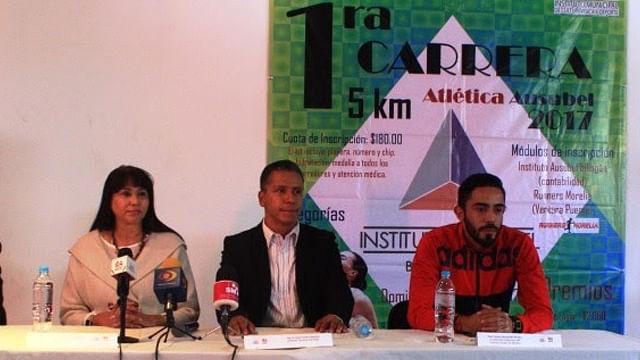 El próximo domingo se llevará a cabo la Carrera Atlética Ausubel en Morelia