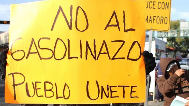 Ciudadanos y partidos políticos alistan marcha nacional contra el gasolinazo