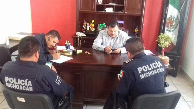 Designa SSP a directores de Seguridad Pública de Aguililla y Coalcomán