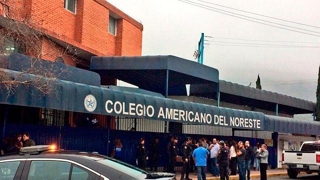 Reanudan clases en el Colegio Americano del Noreste, tras ataque
