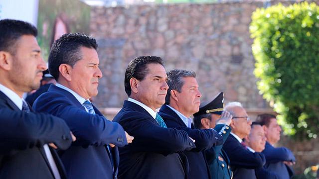 Participa Silvano en ceremonia de destrucción de armas de Guanajuato, Querétaro y Michoacán