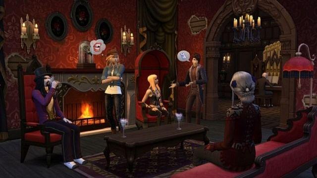 Los Sims 4 reciben a los vampiros en una nueva expansión