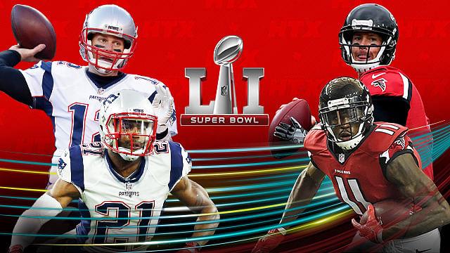 Patriotas, Halcones y Lady Gaga, listos para el Super Bowl LI