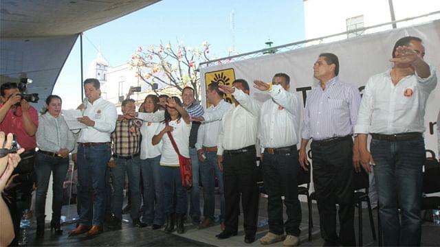 Se suman a Foro Nuevo Sol 5 mil 98 nuevos militantes en Zitácuaro