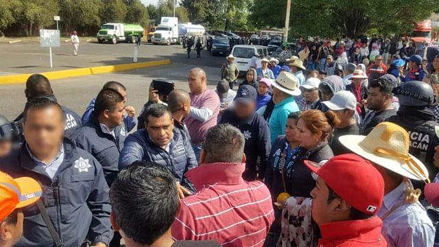 Liberan instalaciones de Pemex en Uruapan; estaban tomadas por comuneros de Cherán