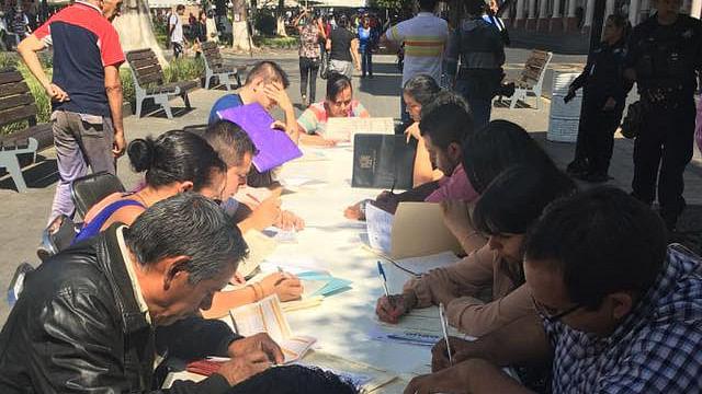 Realizan en Sahuayo la primera Feria de Empleo