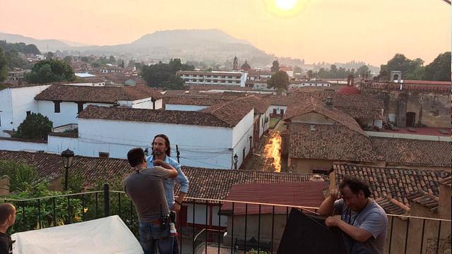 Inician grabaciones de la campaña Somos Michoacán con El Buki