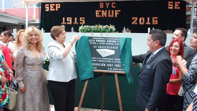 ENUF festeja 101 años de su fundación