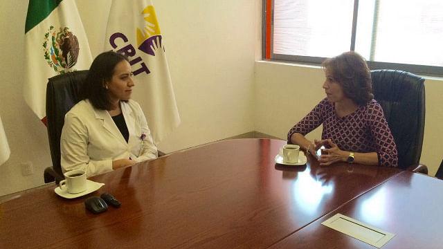 IMUMO estrecha lazos con el CRIT Michoacán en beneficio de mujeres