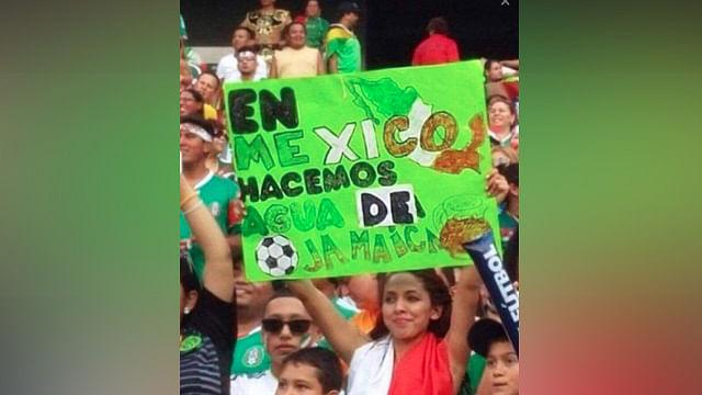 Le ponen sazón al encuentro de México vs Jamaica con el tag #WeLoveTomarJamaica