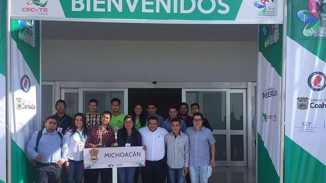Alumnos del CECyTEM triunfan en el Concurso Nacional de Innovación Tecnológica