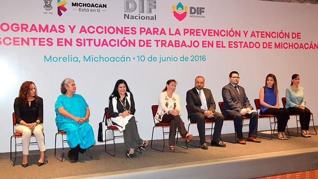 Casi 8 mil niños han sido atendidos por el DIF Michoacán