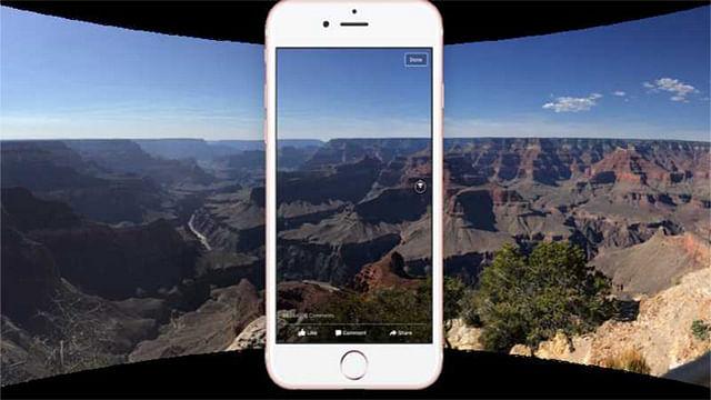 Ya se pueden publicar fotos en 360 grados en Facebook
