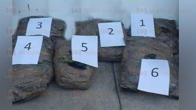 Federales incautan más de 20 mil pesos en marihuana en la TAM