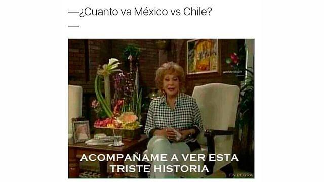 Galería: Los mejores memes de la goliza que le dio Chile a México (7-0)