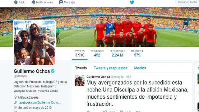 Avergonzados por goleada ante Chile, Osorio y seleccionados piden disculpas a afición