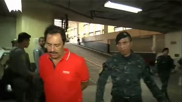 Video: Capturan en Guatemala a operador del Cártel de Sinaloa