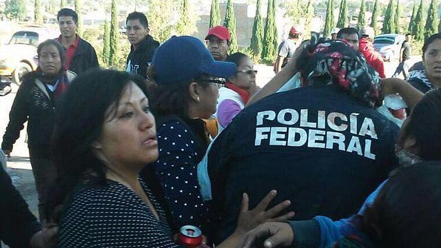 Confirma CNS 21 federales heridos en Oaxaca