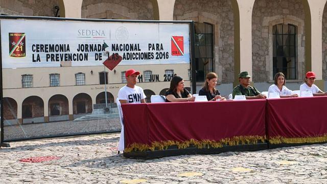 Militares ofrecerán charlas de prevención contra adicciones en Michoacán