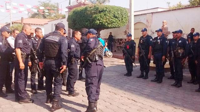 Refuerza SSP estrategia de seguridad en la región Zamora