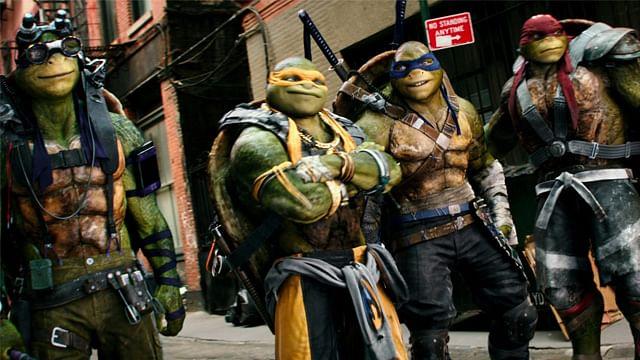 """""""Tortugas Ninja 2"""", película más taquillera de la semana en México"""