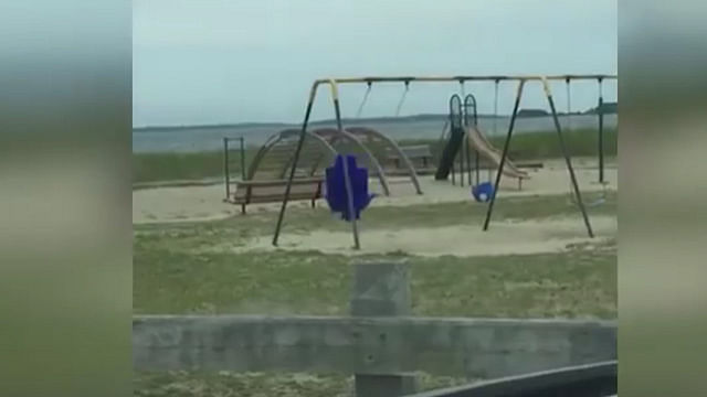 Video: Hombre capta fantasma en un parque de diversiones
