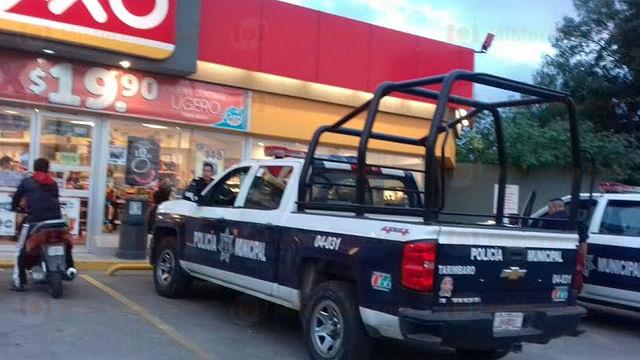 Asaltan una tienda Oxxo en Tarímbaro; se llevan más de 18 mil pesos