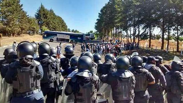 Dos muertos, siete heridos, 10 detenidos y 15 armas aseguradas, en Arantepacua