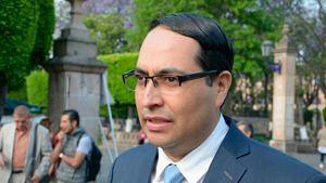 Titular del Partimonio Cultural de Morelia, Gaspar Hernández Razo (Foto: ACG)