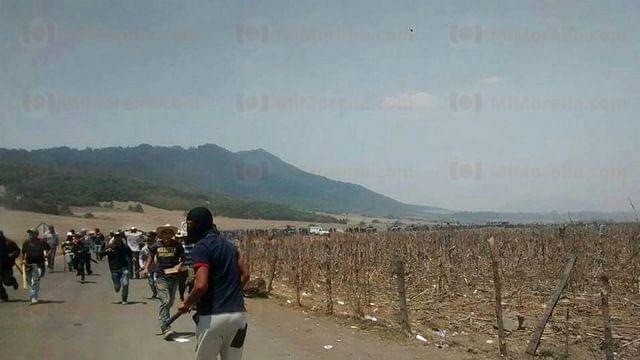 PGJE sólo confirma un deceso durante enfrentamiento en Arantepacua