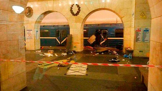 La alerta en Rusia continúa; desactivan explosivo en San Petersburgo