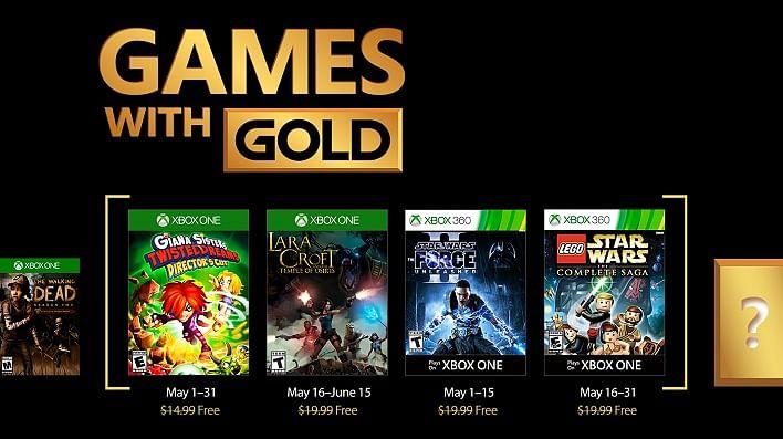 Microsoft anuncia los juegos de Games with Gold para el mes de mayo