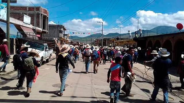 Sigue desconfianza en Arantepacua
