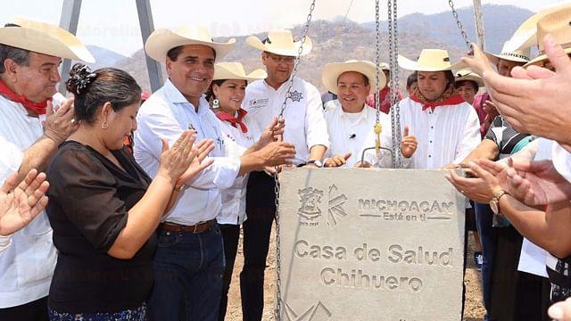 En Chihuero, ejecuta SCOP obras por 8 mdp