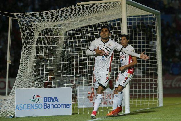 Amaury Escoto marcó el único tanto del partido (Foto @AscensoMX)