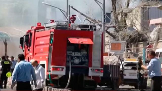 Video: Explosión en Kabul deja al menos 80 muertos y 350 heridos