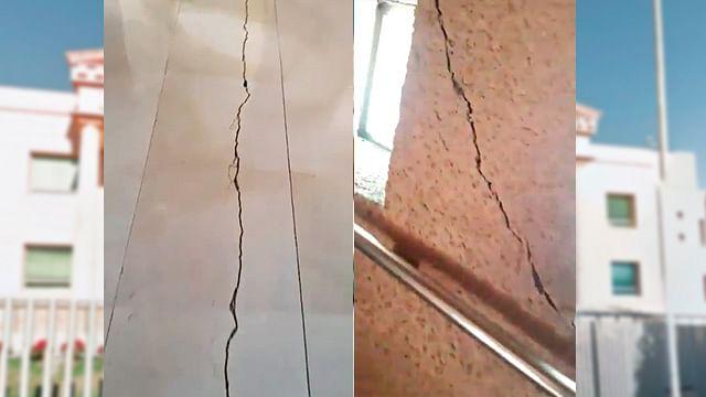 Registran afectaciones en Morelia tras sismo [Video]