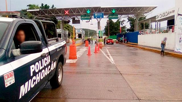 Despliega SSP vigilancia en puntos viales y casetas de peaje