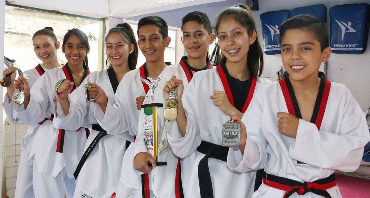 La patada al éxito, una generación de taekwondoines medallistas