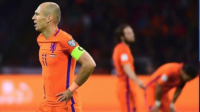 Holanda no irá a Rusia 2018