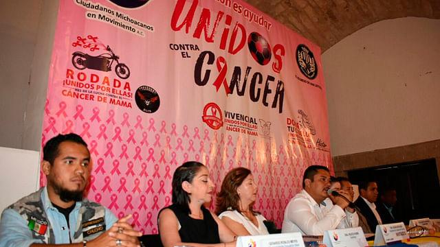 Ciudadanos Michoacanos anuncia cruzada contra el cáncer