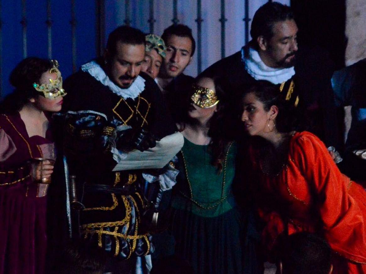 Última función de Don Juan Tenorio en Morelia