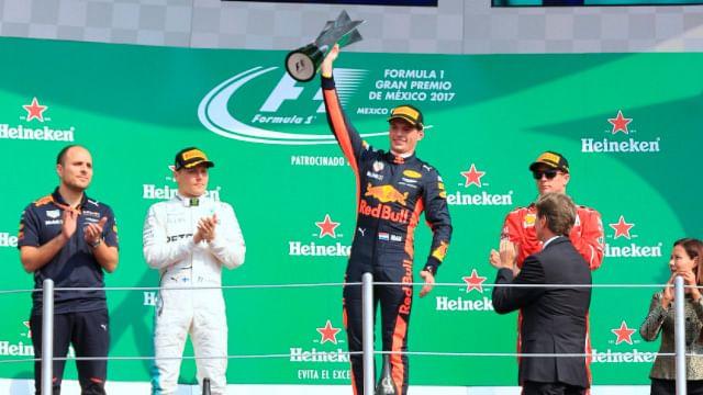 Max Verstappen gana el Gran Premio de México, Hamilton se corona tetracampeón