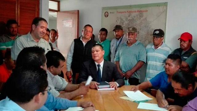 Cocotra retrasa las concesiones a transportistas antorchistas: Rabí Núñez