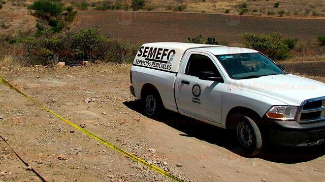 Localizan a mujer muerta en el municipio de Apatzingán