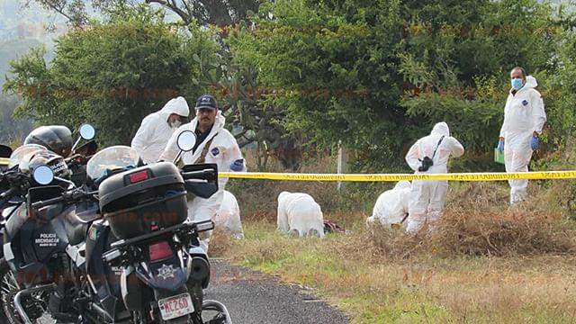 Localizan a muchacho asesinado en el camino Tacícuaro-Cuanajillo