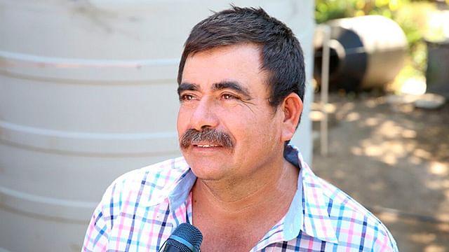 La población de Tiquicheo agradece el apoyo del gobierno para tener agua purificada en sus hogares (Foto: Cortesía)
